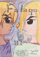 Title-page for Futago no Hi/Twin Fire by CrystalAlice