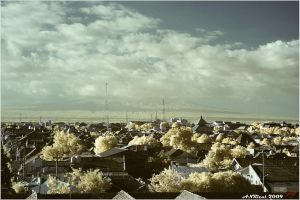 Yogyakarta from other side by neoxavier