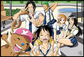One Piece: Back to School by Hidennka