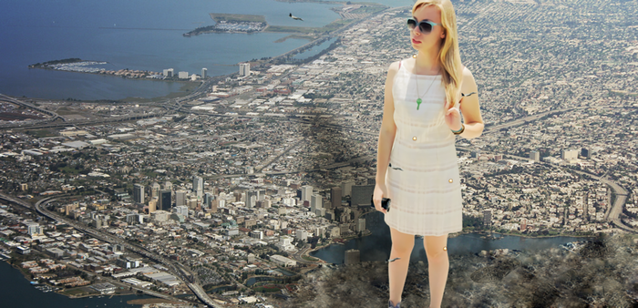 Giantess Ellie: Unstoppable by dochamps