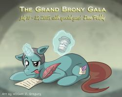 Dave Polsky (Grand Brony Gala) by skull-boy666