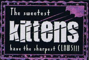 Kitty Claws by titanic-1912