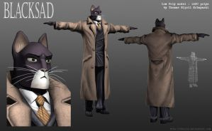 John Blacksad 3D model by ThoRCX