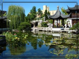 Chinese Garden- Summer by Asura-Valkyrie