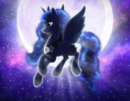 Luna - MLP Worshipper of the Night by Light262