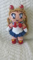 Crochet Sailor Moon (chibi) by Maw1227