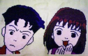 Cross Stitch - Hana Yori Dango by EeveeChan