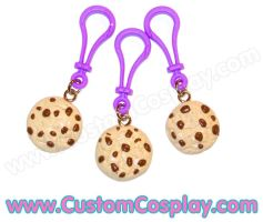 Chocolate chip cookie bag clip by The-Cute-Storm