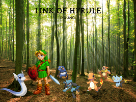 Link's Pokemon Team by Elphaba-Fang