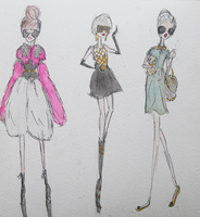 Gaga - 2012 Outfits II by LL0ND0N