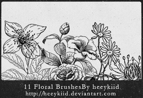 11_Floral_Brushes_By_heeykiid by heeykiid