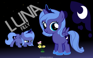 Filly Luna by adamlikesponies