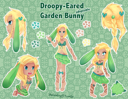[CLOSED] Garden Bunny Adoptable by shalambay