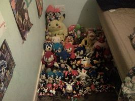 My plush collection UPDATED with some figures too. by PaRappaDaRappa123