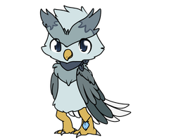 Noctowl dude by dragonsweater