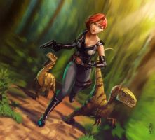 Dino Crisis by DanteFitts