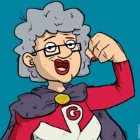 Power Granny by striffle