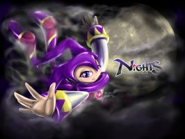 NiGHTS Into Dreams by yamakarasu
