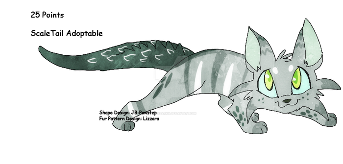 Scaletail Adoptable   Closed by PrinceBarkin