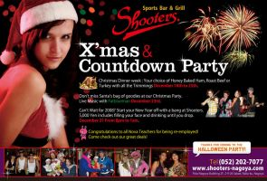 X'mas and Countdown Party by Kenichi-Japan