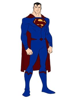 Superman (Rebirth) Young Justice Style by EHeroAndrew