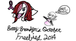 ::FREE Boo drawings for the month of October:: by Batty-Brandyn