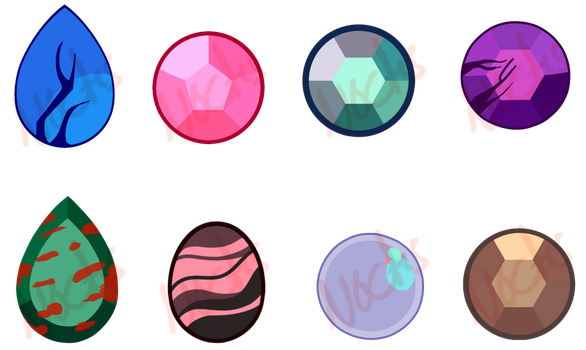 Mystery Gemstone Adopts (OPEN) by Astrum-Adopts