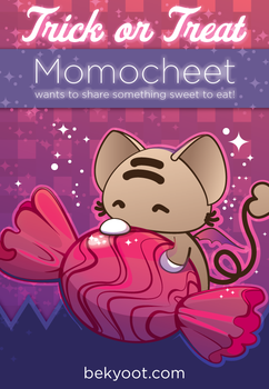Trick or Treat, Momocheet by lafhaha