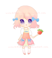 new oc (finished!) by kittiehcakes