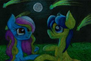 Beautiful night by Acridie
