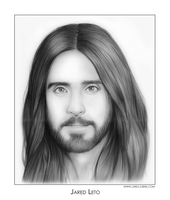 Jared Leto by gregchapin
