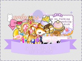 Pixelated PNGs by OftheCrucified