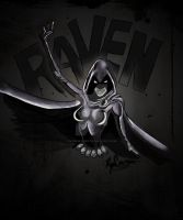 Teen Titans - Raven :color: by RyanMcMurry