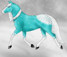 Melodious Snowfall by RavenSerpent