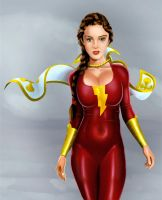 Mary Marvel by DansArtRealm