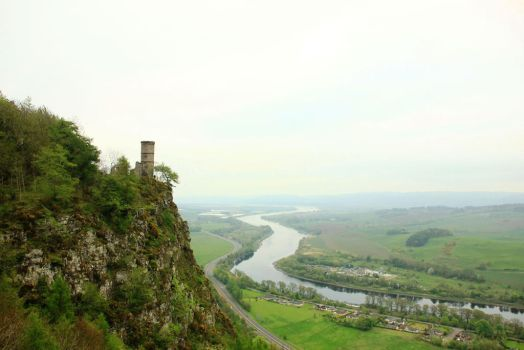 Kinnoull Hill, Scotland by sharkbone89