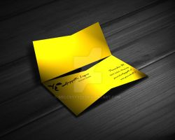Company Card Design (opened) by melcsyyy22