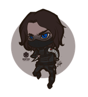 Chibi Bucky by Rofer96