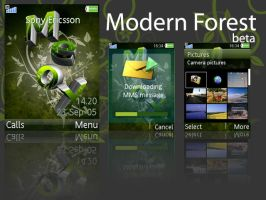 MF. Beta - Sony Ericsson theme by E-moX