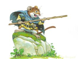 Adventure Mouse by bridge-troll