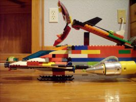 LEGO ship bonus lazer by CanadaLeaf7