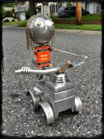 Robot 5 for Manayunk by adoptabot