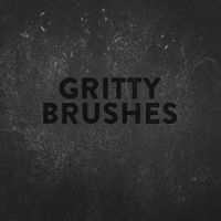 Gritty and Dirty Photoshop Brushes by photoshophut