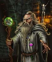 Wizard by ikamitic