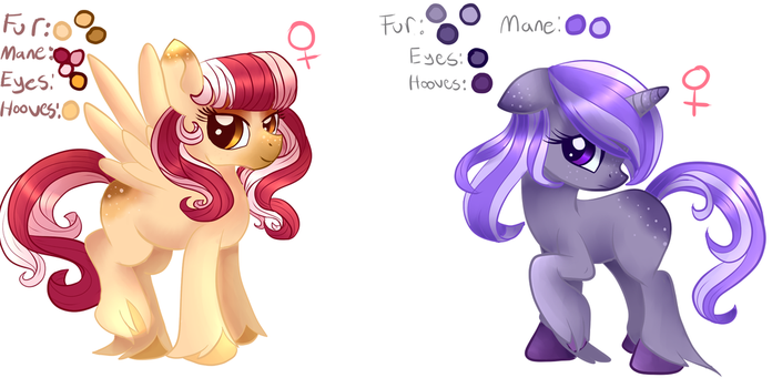 Adoptables 1/2 OPEN by Tuxisthename