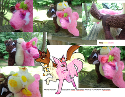 Neapolitan Plush! by LowlyWorm