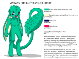 Marwan color chart by MarwanGreenCritter