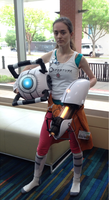 Chell Cosplay Nashicon 2015 by gabsters109