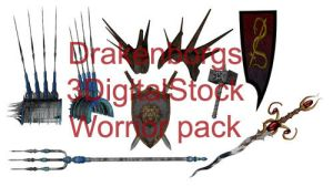 Warrior pack by 3DigitalStock
