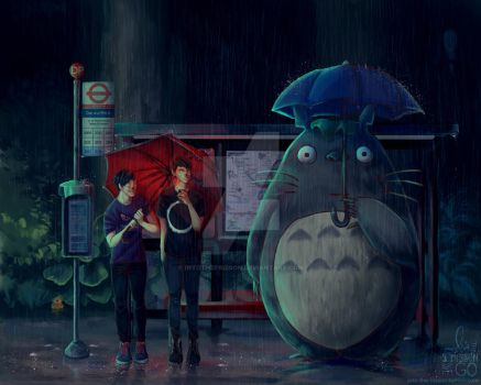 My Neighbor Totoro (ft Dan and Phil) by IntoTheFrisson
